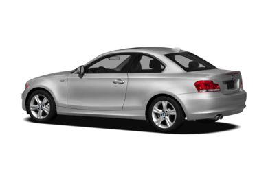 Surround 3/4 Rear - Drivers Side  2012 BMW 128