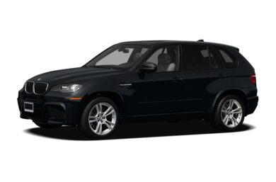 3/4 Front Glamour 2012 BMW X5 M