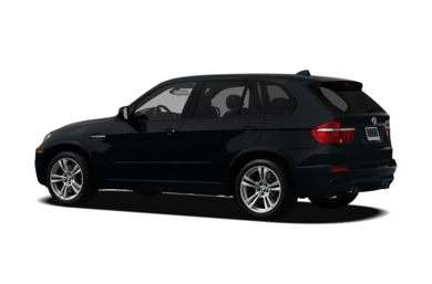 Surround 3/4 Rear - Drivers Side  2012 BMW X5 M