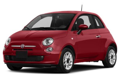 3/4 Front Glamour 2014 FIAT 500