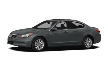 3/4 Front Glamour 2012 Honda Accord