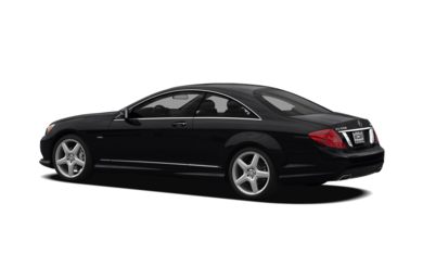 Surround 3/4 Rear - Drivers Side  2012 Mercedes-Benz CL550