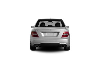 Surround Rear Profile 2012 Mercedes-Benz C300
