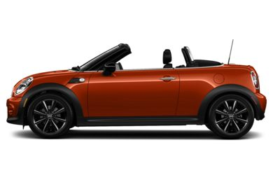 3/4 Rear Glamour  2014 MINI Roadster