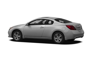 Surround 3/4 Rear - Drivers Side  2012 Nissan Altima