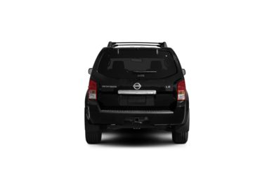 Surround Rear Profile 2012 Nissan Pathfinder