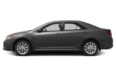 90 Degree Profile 2017 Toyota Camry