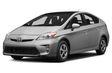 3/4 Front Glamour 2015 Toyota Prius