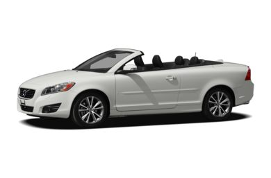 3/4 Front Glamour 2012 Volvo C70