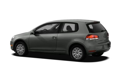 Surround 3/4 Rear - Drivers Side  2012 Volkswagen Golf