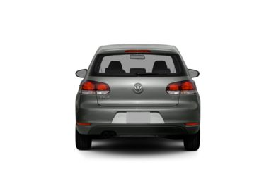 Surround Rear Profile 2012 Volkswagen Golf