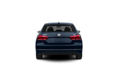 Surround Rear Profile 2012 Volkswagen Passat