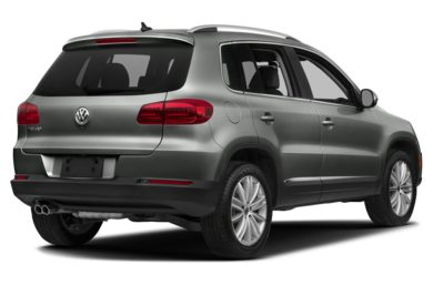 3/4 Rear Glamour  2018 Volkswagen Tiguan Limited