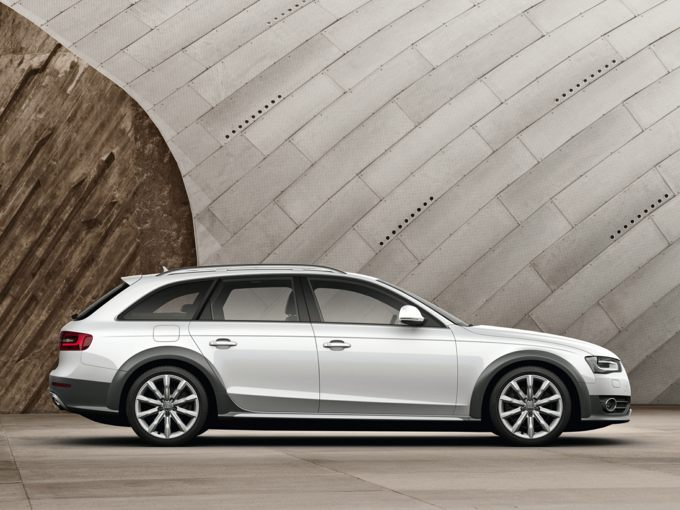 2015 Audi allroad side