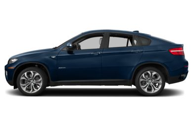 90 Degree Profile 2013 BMW X6