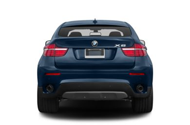 Rear Profile  2013 BMW X6