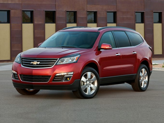 Chevrolet Traverse Red