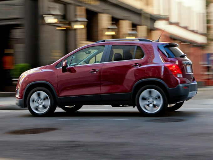2015 Chevrolet Trax Styles Features Highlights