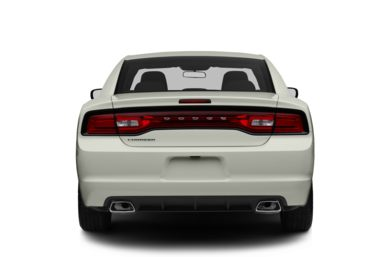 Rear Profile  2013 Dodge Charger