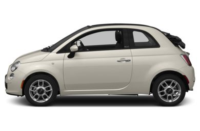 90 Degree Profile 2013 FIAT 500c