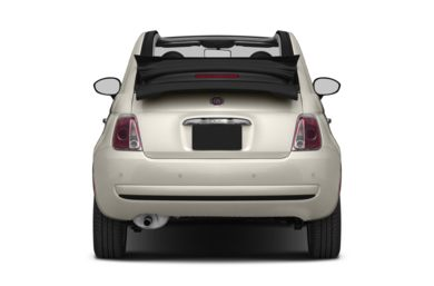 Rear Profile  2013 FIAT 500c