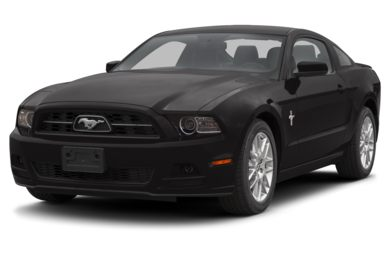 3/4 Front Glamour 2013 Ford Mustang