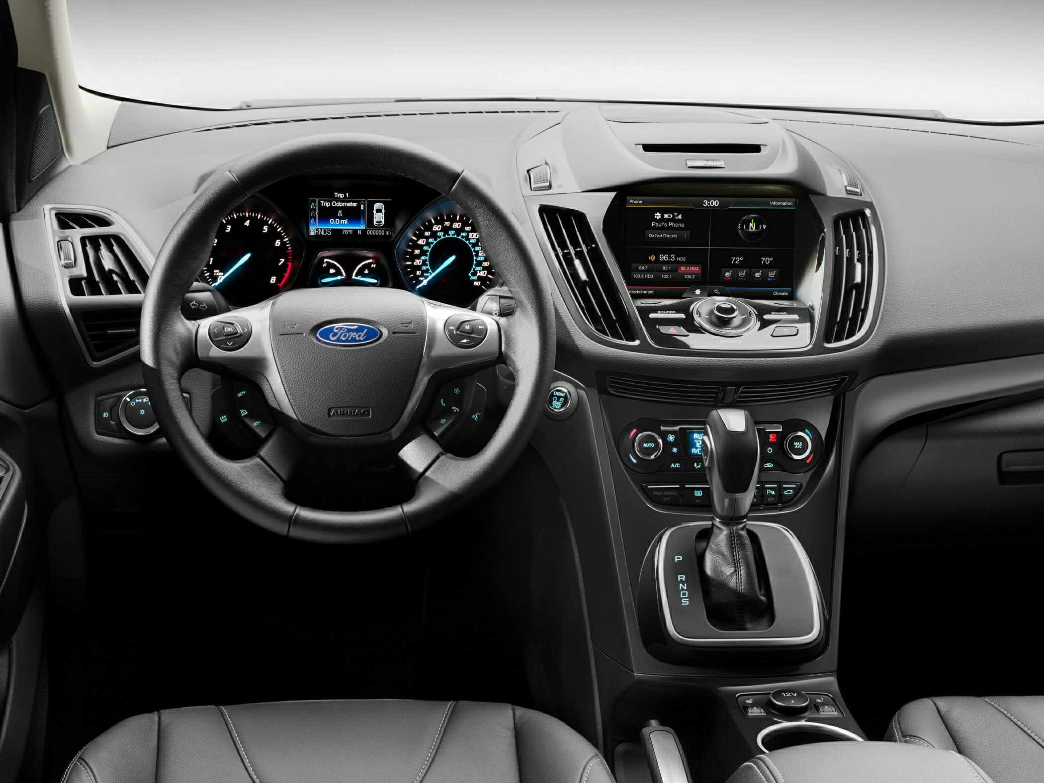 2014 Ford Escape Styles & Features Highlights