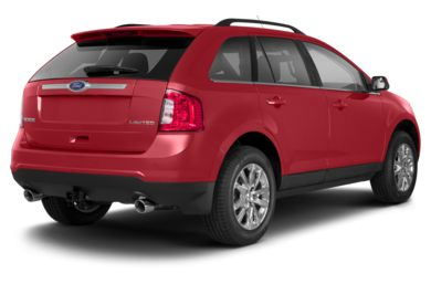 3/4 Rear Glamour  2013 Ford Edge