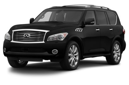 3/4 Front Glamour 2013 INFINITI QX56