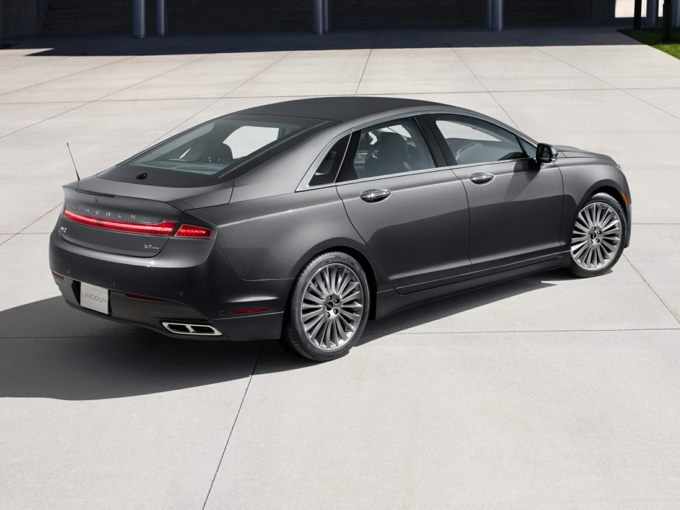 The Mkz Gets No Significant Changes For 2016