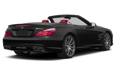 3/4 Rear Glamour  2013 Mercedes-Benz SL63 AMG