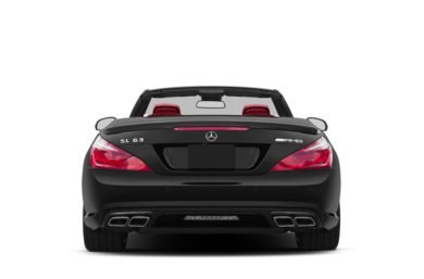 Rear Profile  2013 Mercedes-Benz SL63 AMG