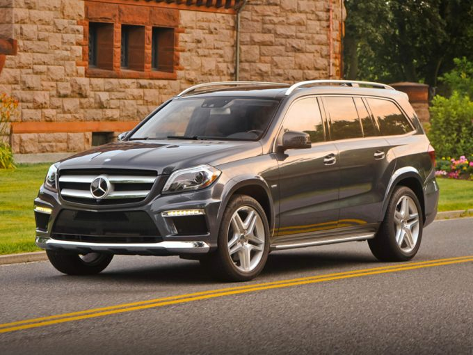 Mercedes Gl  With Rims