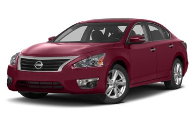 3/4 Front Glamour 2013 Nissan Altima