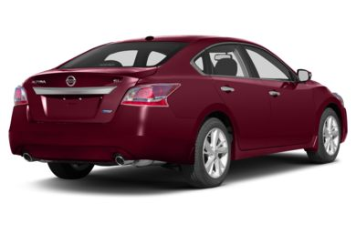 3/4 Rear Glamour  2013 Nissan Altima