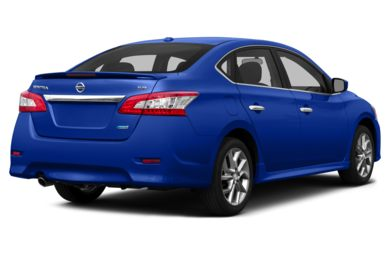 See 2015 nissan sentra color options carsdirect 34 rear glamour 2015 nissan sentra sciox Images
