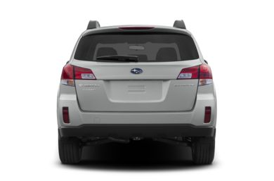 Rear Profile  2013 Subaru Outback