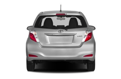 Rear Profile  2013 Toyota Yaris