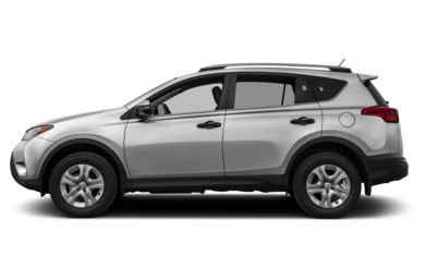 90 Degree Profile 2015 Toyota RAV4