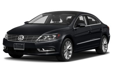 3/4 Front Glamour 2014 Volkswagen CC