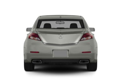 Rear Profile  2014 Acura TL