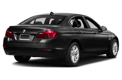 3/4 Rear Glamour  2014 BMW 550