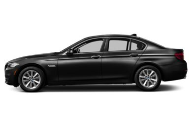 90 Degree Profile 2014 BMW 550