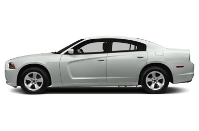 90 Degree Profile 2014 Dodge Charger