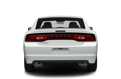 Rear Profile  2014 Dodge Charger