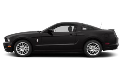 90 Degree Profile 2014 Ford Mustang