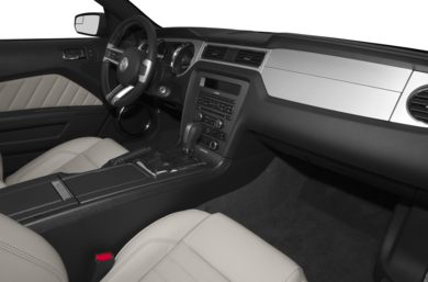 interior profile 2014 ford mustang