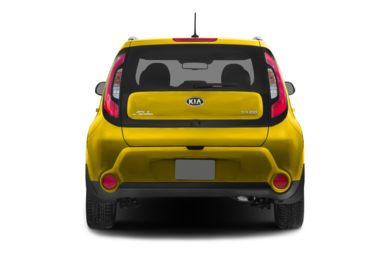 Rear Profile  2015 Kia Soul