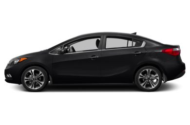 90 Degree Profile 2016 Kia Forte