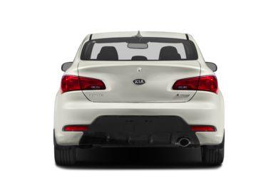 Rear Profile 2016 Kia Forte Koup